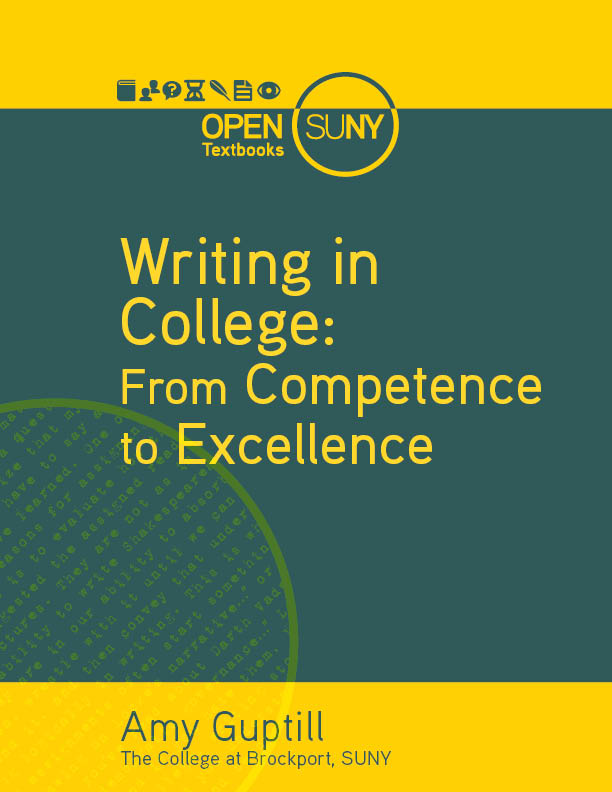 Cover image for Writing in College