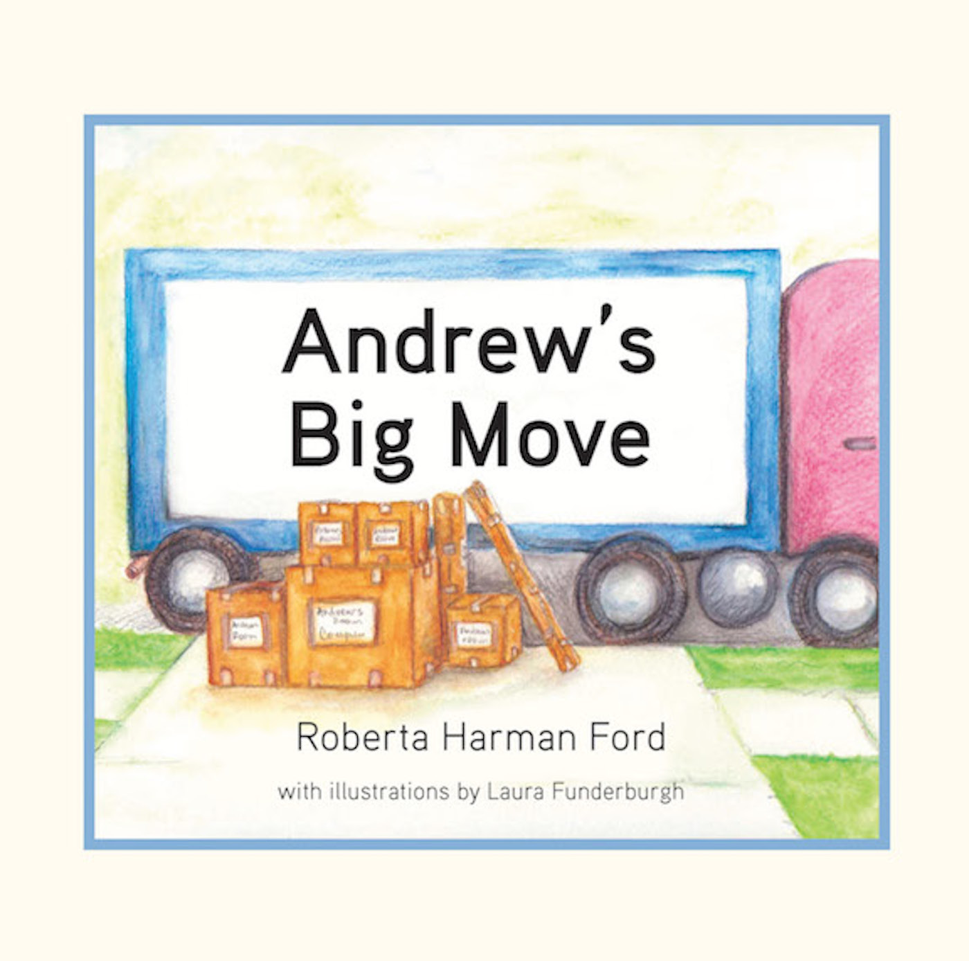 Cover image for Andrew's Big Move