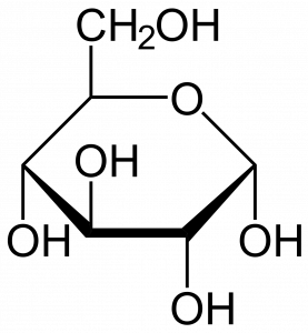 Cell structure of glucose