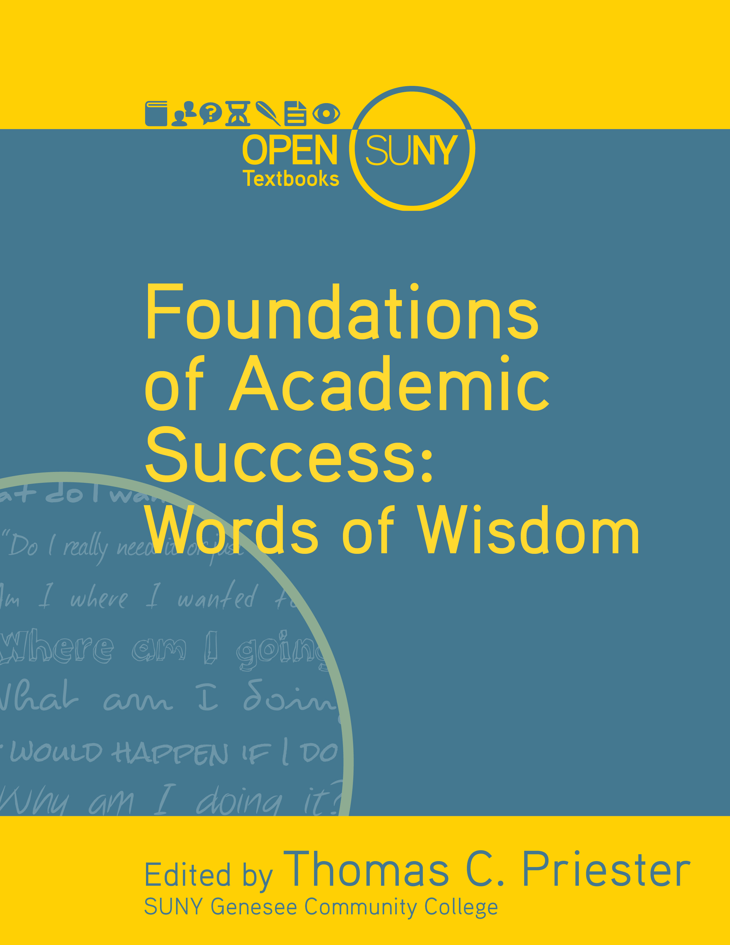 Cover image for Foundations of Academic Success: Words of Wisdom