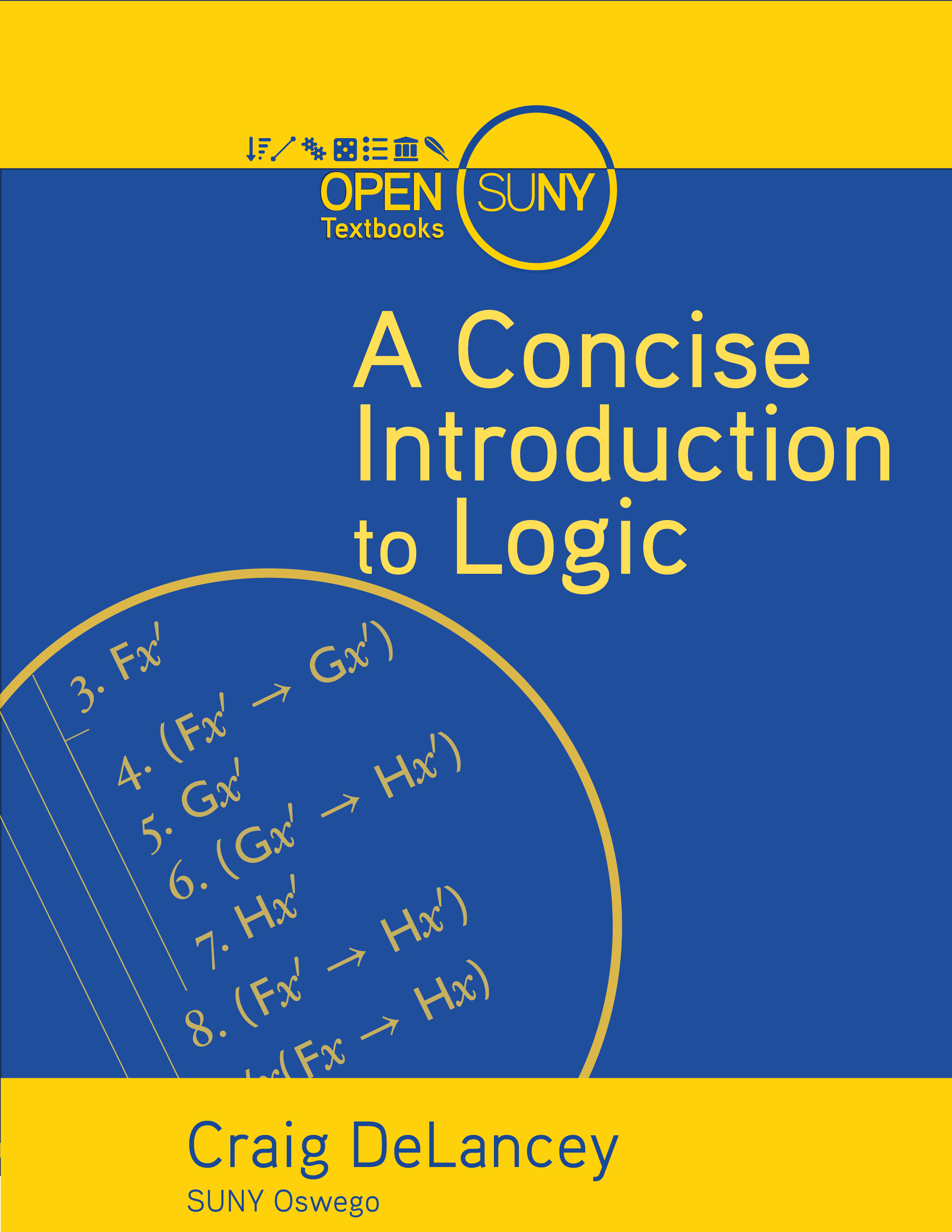 Cover image for A Concise Introduction to Logic